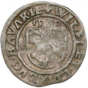 Bayern, Herzogtum, Wilhelm IV der Standhafte (1511-1550) 1/2 Batzen 15x0