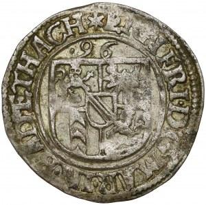 Baden-Durlach, Ernst Friedrich, 3 Kreuzer 1596