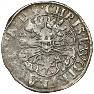Waldeck, Grafschaft Christian und Wolrad IV., 3 Kreuzer 1609