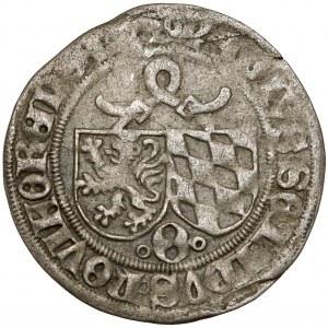 Pfalz-Mosbach, Otto II. von Mosbach (1467-1499), 1/2 Schilling o.J
