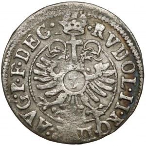 Francja, Strasburg, Karol II (1593-1607) 3 krajcary 160x