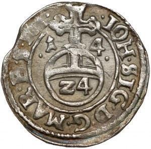 Brandenburg-Preussen, Johan Sigismund, 1/24 taler 1614