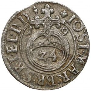 Prusy, Jan Zygmunt, Półtorak Królewiec 1619 - rzadki