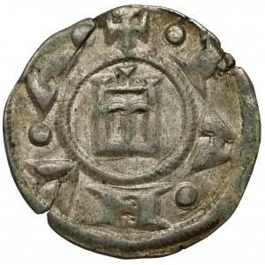 Włochy, Genua / Genova, Denar (1139-1339) CONRADO
