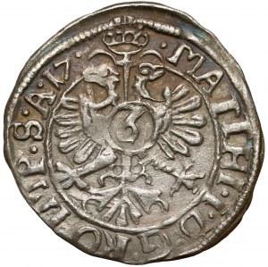 Solms-Lich, Philipp Reinhard I., 3 Kreuzer 1617