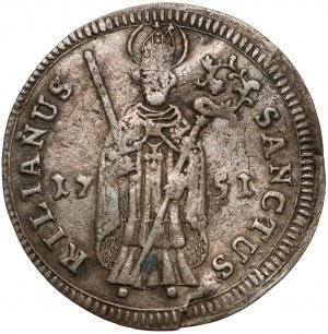 Würzburg, Karl Philipp von Greifenklau, Schilling 1751