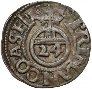 Anhalt, Joh.Georg I., Christian I., August, Rudolf, Ludwig, 1/24 Taler 1619