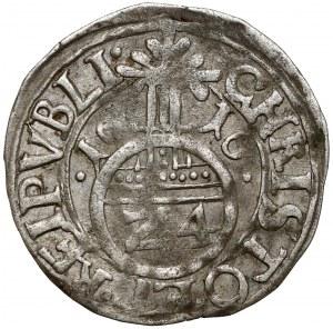 Pomorze, Filip II, Półtorak (Reichsgroschen) 1616, Szczecin - błąd SET