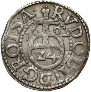 Schleswig-Gottorp, Johann Adolf, 1/24 Taler 1600