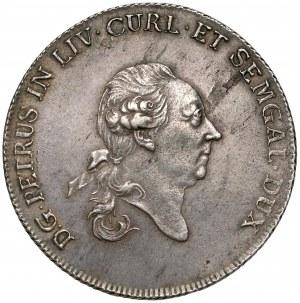 Kurlandia, Piotr Biron, Talar Mitawa 1780