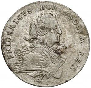 Preussen, Friedrich II, 1/6 Taler 1751 A, Berlin