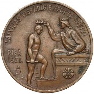 Łotwa, Medal, Festiwal Sportów Ogólnych, Ryga 1931 - Brąz