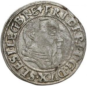 Śląsk, Fryderyk II, Grosz 1544, Legnica