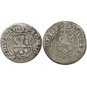 Śląsk, Jan V Turzo, Grosz Nysa 1506 i 1507 (2szt)