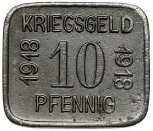 Sprottau (Szprotawa), 10 fenigów 1918