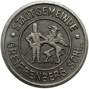 Greiffensber Schl. (Gryfów Śląski), 10 fenigów 1919