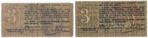 Zagłębie Dąbrowskie, 3 kopiejki 1914 (2szt)