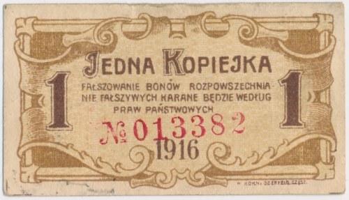 Częstochowa, 1 kopiejka 1916