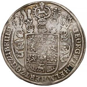 Braunschweig-Calenberg-Hannover, Georg Wilhelm, Taler 1657 HS
