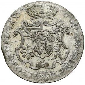 Fryderyk Chrystian, 1/12 talara 1763 IFóF