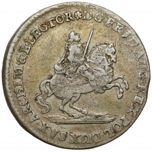 August III Sas, Dwugrosz wikariacki 1742
