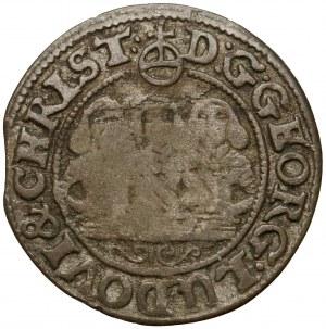 Śląsk, Trzej Bracia, 1 krajcar 1653, Brzeg