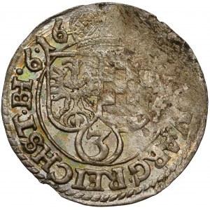 Śląsk, Jan Chrystian i Jerzy Rudolf, 3 krajcary 1616, Złoty Stok