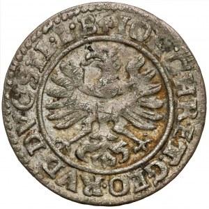 Śląsk, Jan Chrystian i Jerzy Rudolf, 3 krajcary 1614, Złoty Stok