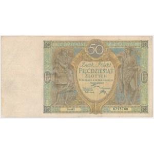 50 złotych 1925 - Ser.AB