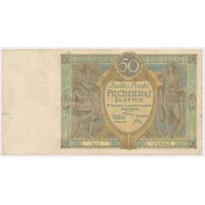 50 złotych 1925 - Ser.G