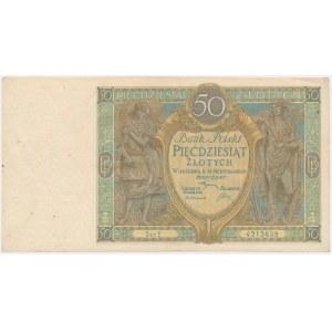 50 złotych 1925 - Ser.E