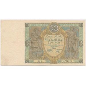 50 złotych 1925 - Ser.U