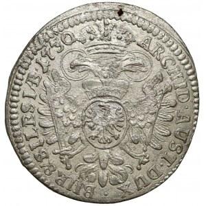 Śląsk, Karol VI, 3 krajcary 1730, Wrocław