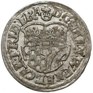 Śląsk, Henryk Wacław i Karol Fryderyk, 3 krajcary 1621 BH, Oleśnica