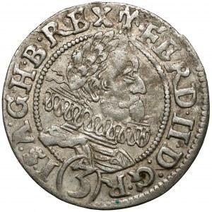 Śląsk, Ferdynand II, 3 krajcary 1629 HR, Wrocław