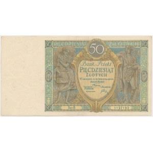 50 złotych 1925 - Ser.B