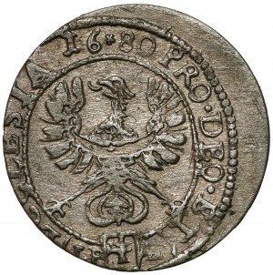 Śląsk, Fryderyk Heski, 1 krajcar 1680 LPH, Nysa