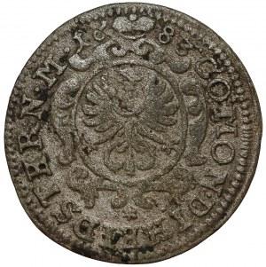 Śląsk, Chrystian Ulryk, 1 krajcar Oleśnica 1683