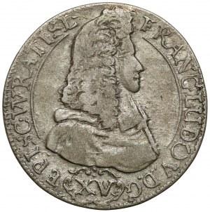 Śląsk, Franciszek Ludwik, 15 krajcarów 1694 LPH, Nysa