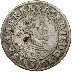 Śląsk, Ferdynand II, 3 krajcary 1630 PH, Kłodzko