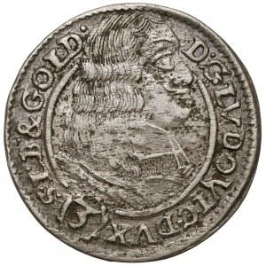 Śląsk, Ludwik IV legnicki, 3 krajcary 1662, Brzeg