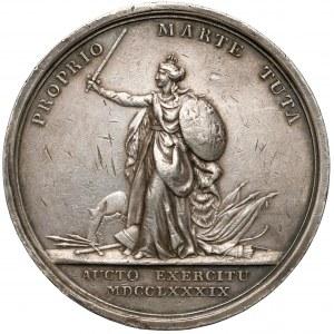 Poniatowski, Medal Pomnik króla Jana III Sobieskiego 1789 r. (Loos)