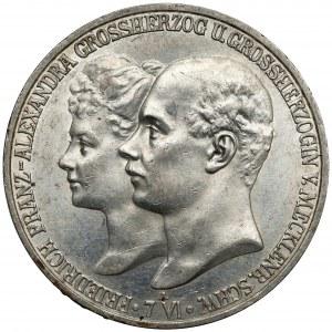 Mecklenburg-Schwerin, 5 mark 1904 A