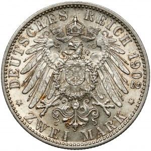 Baden, 2 mark 1902 - 1852-1902