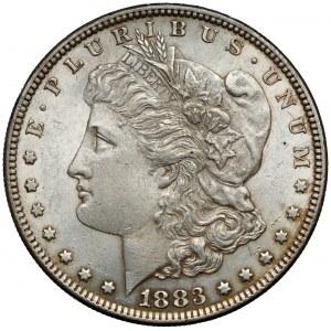 USA, Dolar 1883, Filadelfia - Morgan Dollar