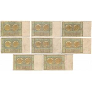 50 złotych 1925-1929 (8szt)
