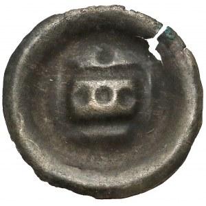 Zakon Krzyżacki, Brakteat - Prostokąt (1297-1308)