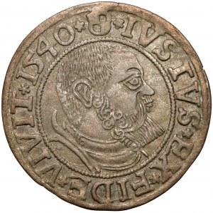 Prusy, Albrecht Hohenzollern, Grosz Królewiec 1540