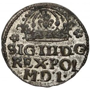 Zygmunt III Waza, Grosz Kraków 1614 - falsyfikat z epoki - piękny