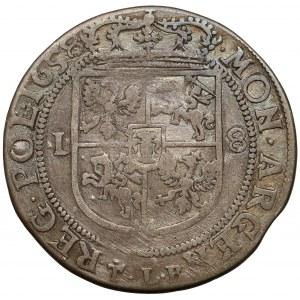 Jan II Kazimierz, Ort Kraków 1658 TLB - małe pop.